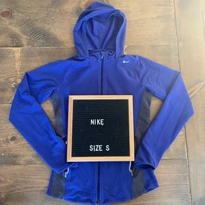 Nike Dri Fit Running Jacket Full Zip